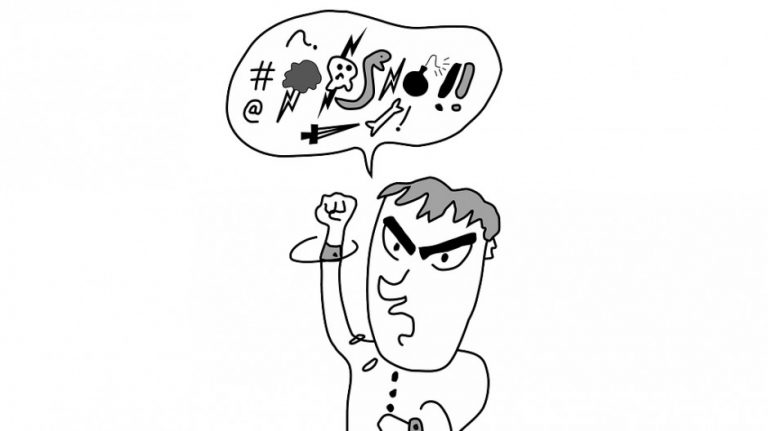 憤怒是短暫精神失常