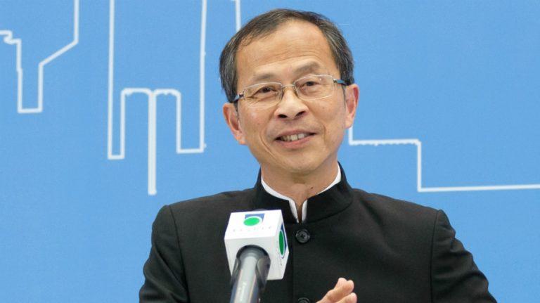 前立法會主席曾鈺成先生(香港公開大學提供)