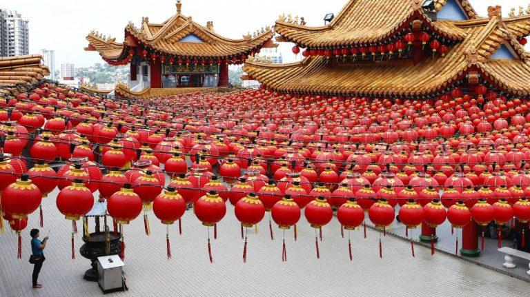在何等程度上,春節這傳統節日習俗與中國人的現代社會是相容的?(亞新社)