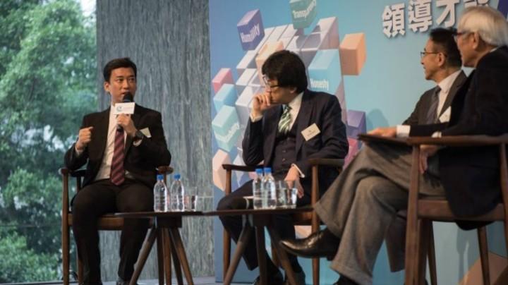 左起為鄭基恩、石永泰、田北俊、詹德隆(公民實踐培育基金)