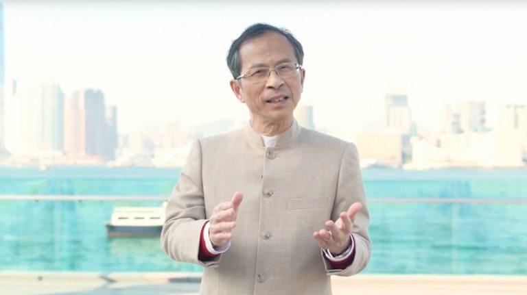 立法會前主席曾鈺成(香港願景影片截圖)