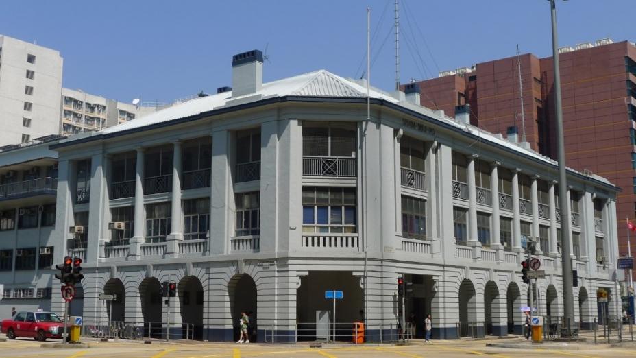 深水埗警署是九龍少數仍然運作的戰前警署(作者提供)