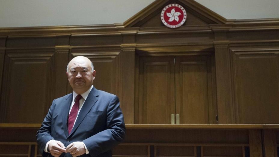 香港終審法院首席法官馬道立(亞新社)