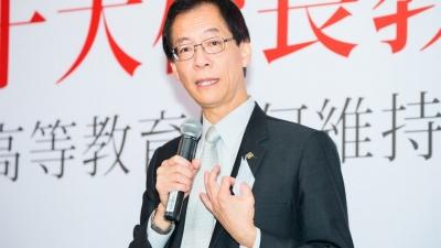 香港理工大學校長唐偉章校長(灼見名家圖片)
