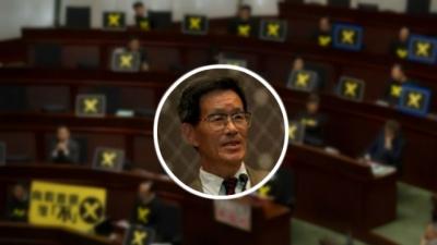 嚴家祺:「我衷心希望,尊敬的香港民主派議員們,你們27人都投下贊成「把選舉人從一個小圈子擴大到香港500萬選民」的一票。」