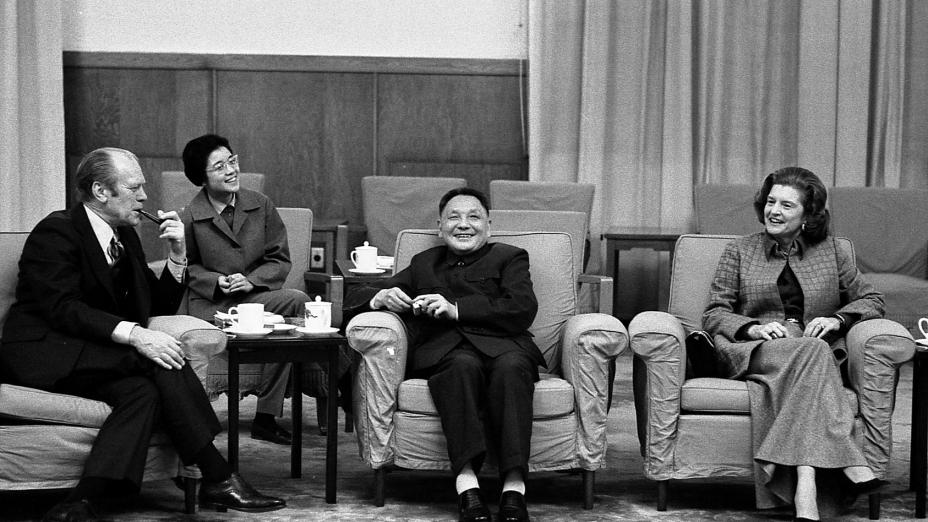 鄧小平(圖中)提出五十年不變(Wikimedia Commons)