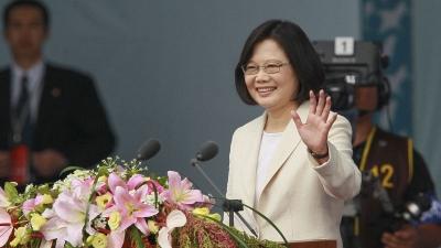台灣總統蔡英文(亞新社)
