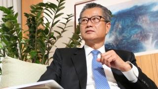 財爺陳茂波:積極尋找香港經濟新的增長點