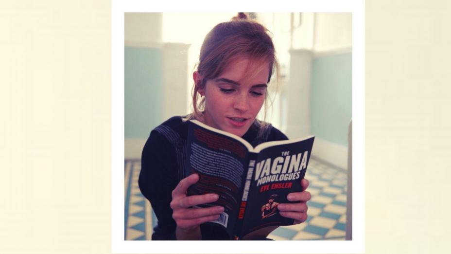 知識潤萬物,細無聲,即使沒能行萬里路,但也能在萬卷書裏讓靈魂有香氣。(Emma Watson Instagram)