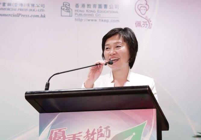 在歷屆的挑戰者中,蔡若蓮贏得的票數和得票率都是最高的。(教聯Facebook)