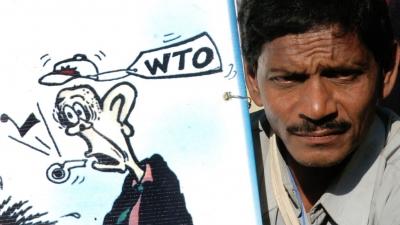 許多有關的國際會議(例如WTO)場所,往往會有國際組織或者民眾的示威。(亞新社)