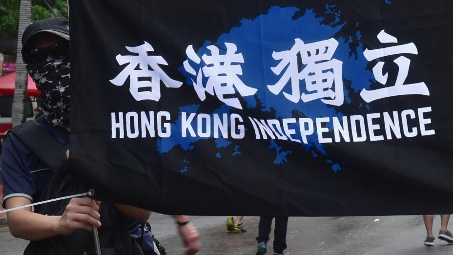 從法理和思想的角度看,香港需要的是闡述港獨的不合法性,不是討論港獨的好處,成為變相宣傳港獨的手段。(亞新社)
