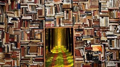 許教授再加自娛形容:「書蟲誠然是無用的東西,但讀書讀到死,是我所樂為。」(Pixabay)