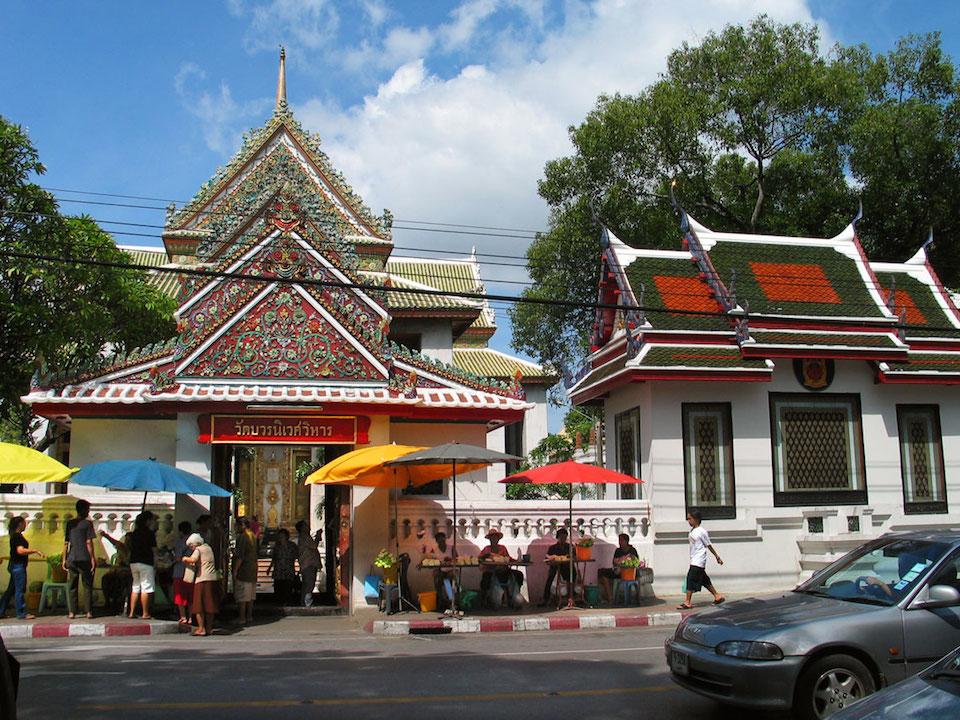 泰國曼谷屈波汪僧皇寺(Wat Bovornives),曾有數位泰國國王在此出家為僧。(Wikipedia Commons)
