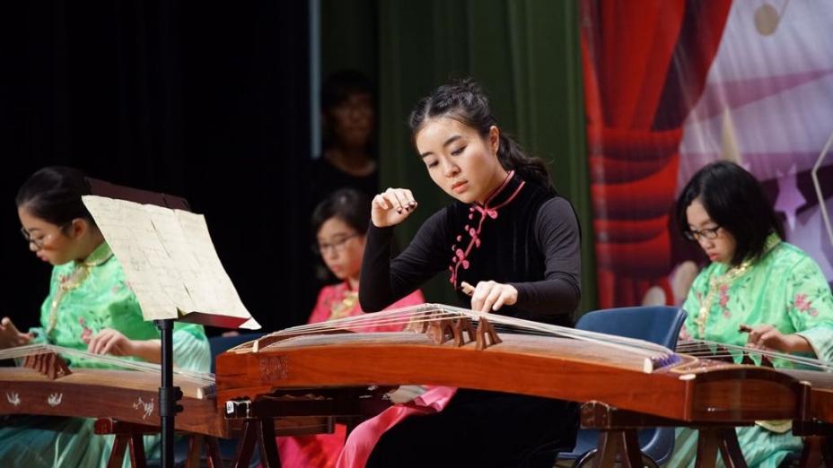 Angela在校際音樂節拿過冠軍,在國際賽拿過第一。(香港中文大學)