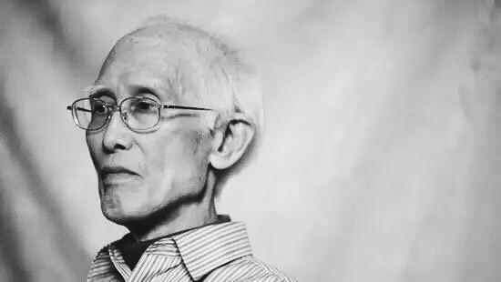著名詩人,文學家余光中於2017年12月14日病逝,享年89歲。(網絡圖片)