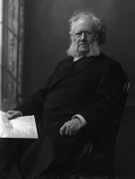 挪威劇作家易卜生,被認為是現代現實主義戲劇的創始人。(Wikipedia Commons)