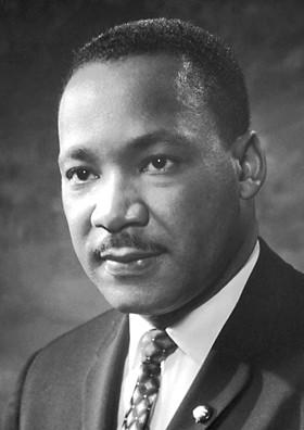 民權運動領袖馬丁‧路德‧金被視為公民抗命的典範。(Wikipedia Commons)