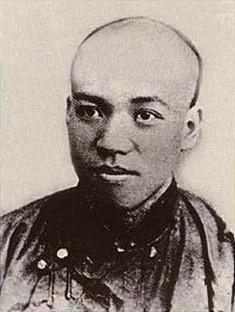 梁啟超在青年時期曾經與老師康有為合作進行戊戌變法,事敗後出逃日本。(Wikipedia Commons)