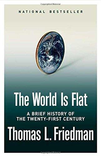 書中主要的論題是「世界正被抹平」,這是一段個人與公司行號透過全球化過程中得到權力的過程。(Amazon)