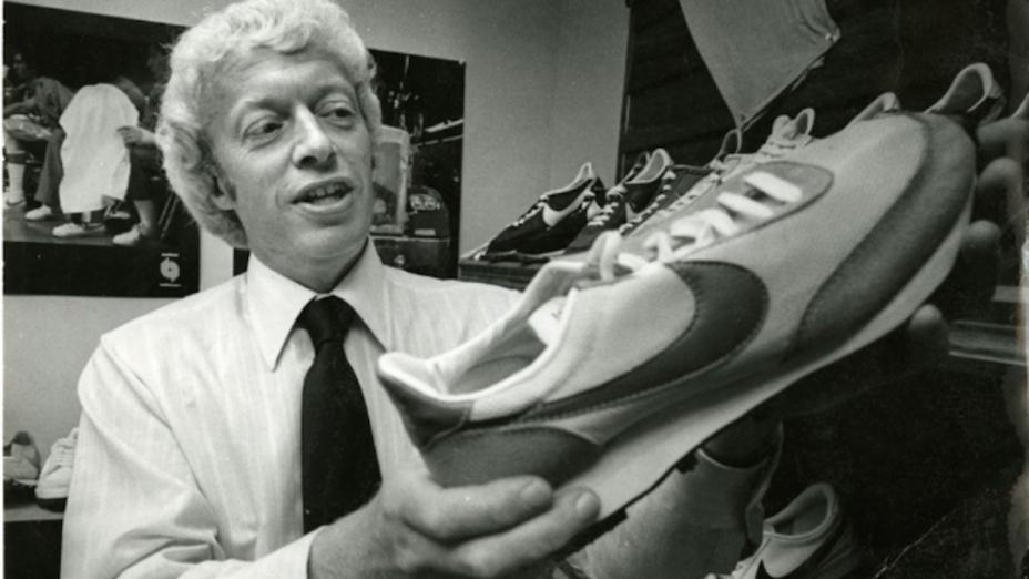 禮特1959年去史丹福大學讀MBA,寫了一份商業計劃書,是運動品牌Nike的原型。(網絡圖片)