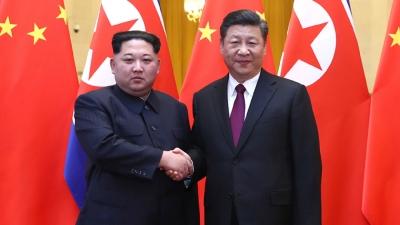 北韓擁有核武之後,不會與中國為仇,而是願意擴大經貿關係以保本國的發展。(亞新社)