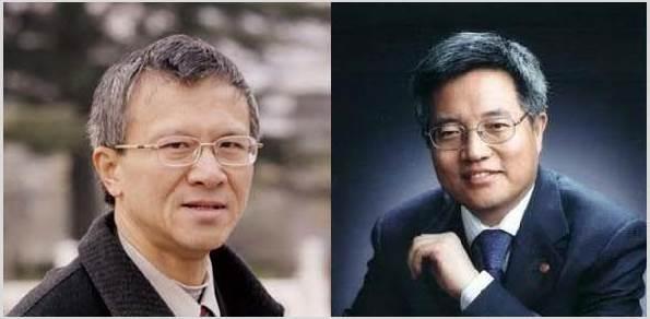 北大教授張千帆(左)、張維迎(右)。(網絡圖片)