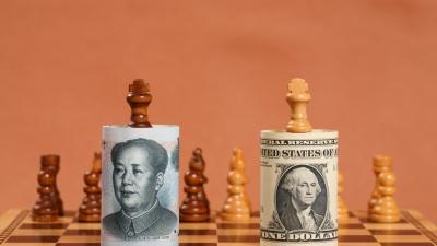 美國治世與中國治世兩套秩序之間會有摩擦,也必然形成發展模式競賽的局面。(Shutterstock)