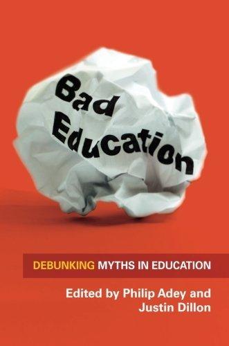 《糟糕的教育:揭穿教育中的神話》,菲利普·阿迪(Philip Adey) 賈斯廷·狄龍(Justin Dillon)主編。(Amazon)