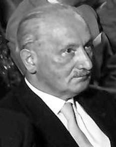 德國哲學家海德格,被譽為二十世紀最重要的哲學家之一。