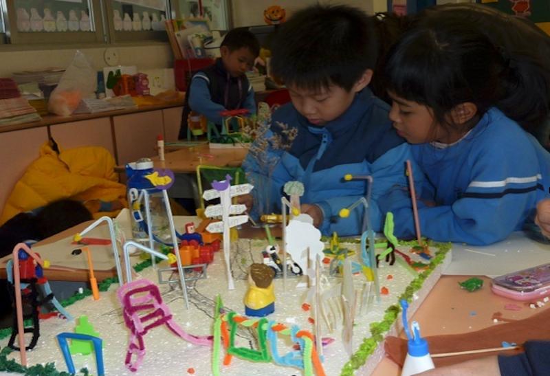 徐俊祥校長的教學理念重視學生真正的學習,並非操練。