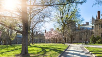 在普林斯頓大學工作,我覺得十分滿意。在普林斯頓的一個安靜與漂亮的小城居住,我也覺得十分滿意。(Shutterstock)