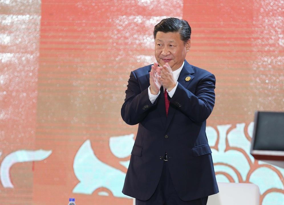 陳清泉認為習近平主席的指示,是對香港科技界和香港同胞的親切關懷和極大鼓勵。(亞新社)