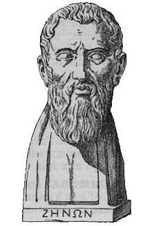 古希臘哲學家芝諾提出四個關於運動不可能的悖論而知名。(Wikipedia Commons)