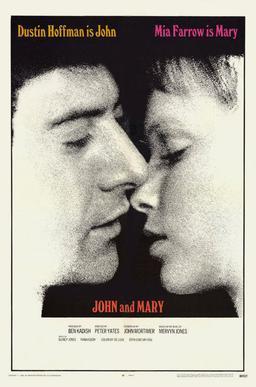 <i>John and Mary</i>電影海報。(Wikimedia Commons)