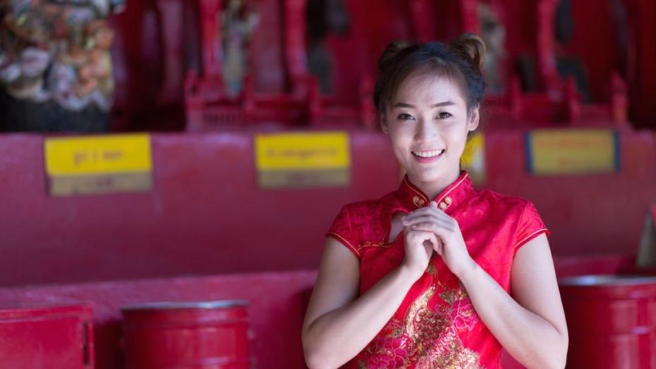 人生世上的美麗景物,那些中國古代守禮的婦女向來所看不到的景物。(Shutterstock)