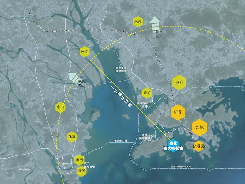 建設大灣區的目的,是要鞏固和提升香港作為國際級樞紐的地位。(團結香港基金)