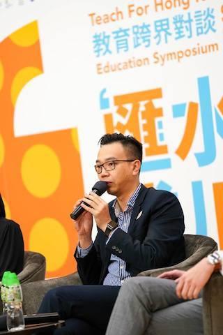 朱子穎認為香港教育的問題,就是學習你知道你要知的事。