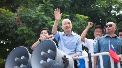 韓國瑜的政綱有如一道清泉,韓未來在台將扮演關鍵角色。(韓國瑜Facebook)