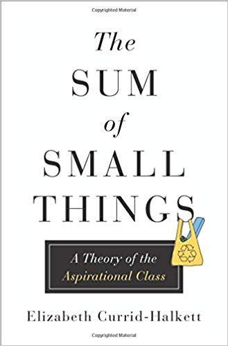 《昂貴的小幸福:一個關於有志階級的理論》書封(Amazon)