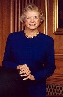 美國最高法院第一位女性法官桑德拉·戴·奧康納,於2006年退休。(Wikimedia Commons)