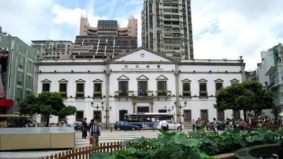 12·3事件中受衝擊的市政廳,現為民政總署大樓。(Wikimedia Commons)
