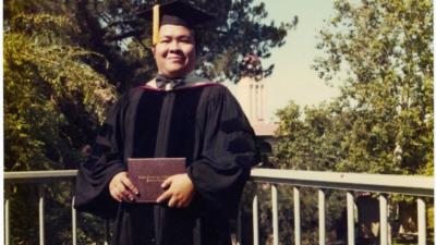 陳明銶教授25歲取得史丹福大學歷史系哲學博士學位。(檔案圖片)