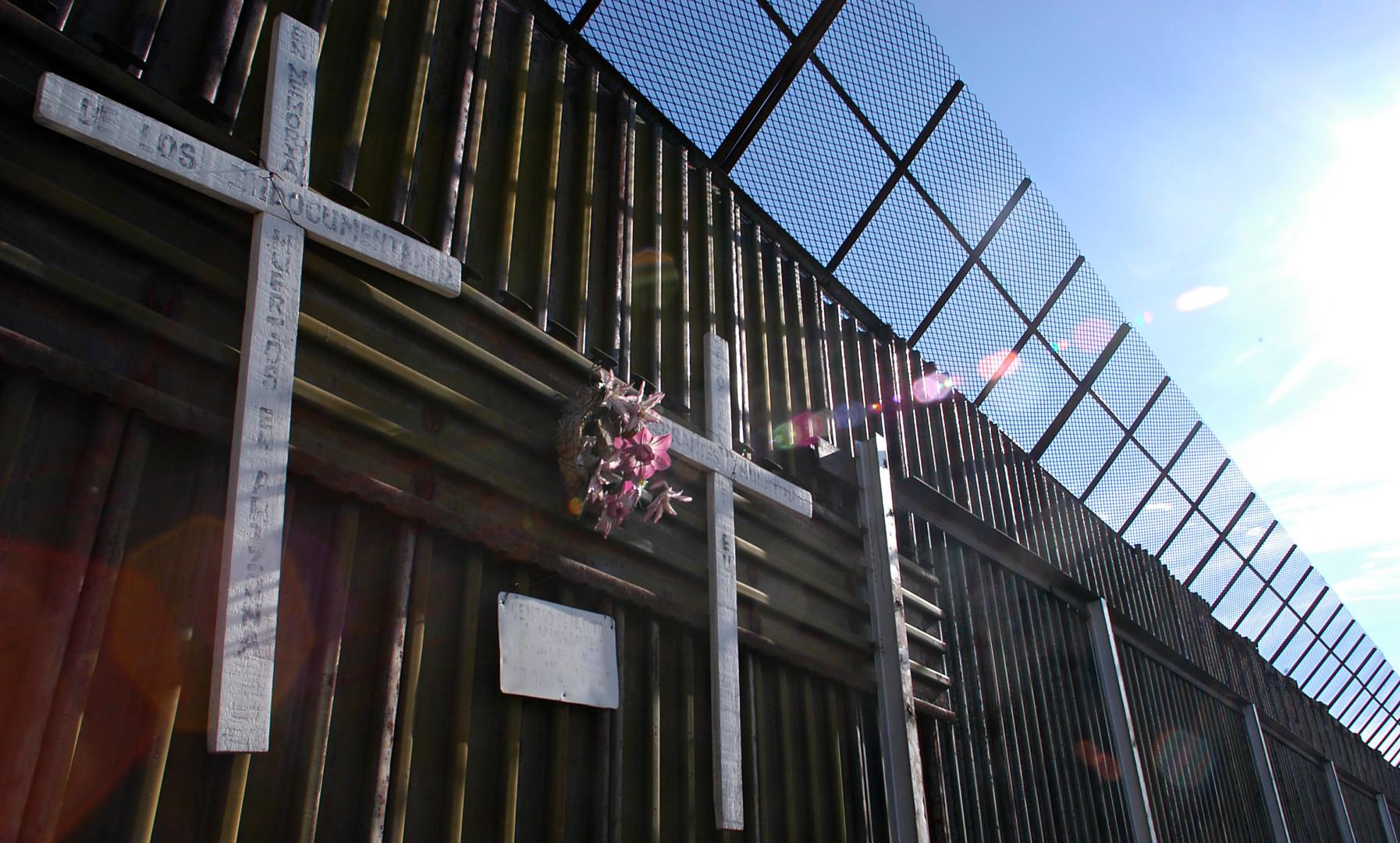 現實是墨西哥邊境的情況並非完全失控,美國的安全並沒有受到實質的威脅。(亞新社)