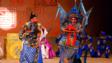 粵劇《斬二王》排場:尤聲普飾演司馬揚(左)及羅家英飾演張忠。(周嘉儀提供)