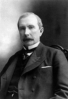 洛克菲勒是美國標準石油公司的創始人,在全盛期壟斷了全美90%的石油市場。(Wikimedia Commons)