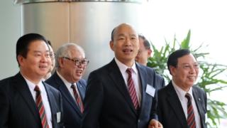 韓國瑜旋風襲港 簽6億農產品訂單