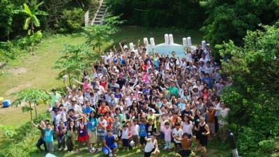 我希望社會上許多比我更有能力更多資源的有心人,將來能夠在香港建立一所真正的小島學園。(賽馬會創新教育工作室 Facebook)