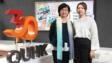 香港公開大學學生事務長陳敏慈女士(左)和丁詩詩同學(右)表示,大學透過多元化的活動及支援服務,成就學生全人發展,實現理想。