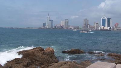 青島市作為山東省的國際運輸平台,與香港在物流上早有不少的合作。(Wikimedia Commons)